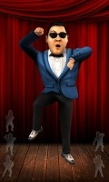 Talking Gangnam Style bold mobile app for free download