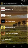 The Country Music Radio Free mobile app for free download