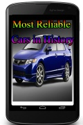MostReliableCarsInHistory mobile app for free download