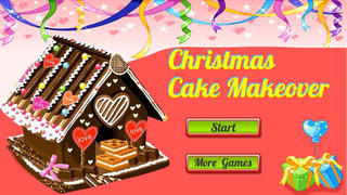 Christmas Cake Makeover   Baking  Decorate