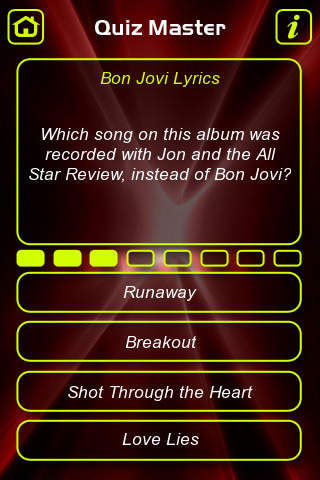 Bon Jovi Music Trivia Quiz 1.0