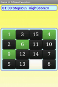 15 puzzle evolution FREE mobile app for free download