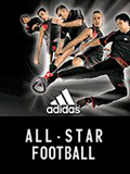 Adidas: All star football mobile app for free download