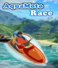 Aqua Moto Race  Free (176x208) mobile app for free download