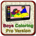 Boys Coloring Pro Version mobile app for free download