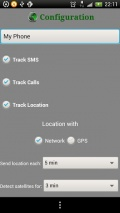 Call, GPS, SMS Tracker mobile app for free download