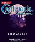 Castlevania Dawn Of Sorro mobile app for free download