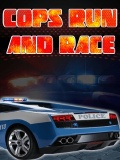 Cops Run And Race