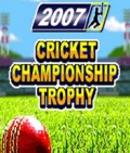 Cricket Championship Trophy 2007 176x208 mobile app for free download