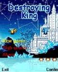 Destroying King 176x220 mobile app for free download