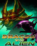 Dragon vs Alien (176x220) mobile app for free download