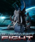 Elephant Fight (176x208) mobile app for free download