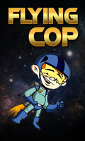 Flying Cop   Free Game (240x400) mobile app for free download
