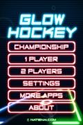 Glow Hockey 2 Pro mobile app for free download