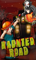 Haunted Road Free Game240x400