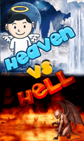 Heaven Vs Hell (240x400) mobile app for free download