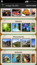 Image Shuffle mobile app for free download