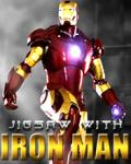 Jigsaw with Iron Man (176x220) mobile app for free download