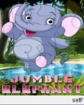 Jumble Elephant (176x220) mobile app for free download