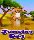 Jumping Dog (176x208) mobile app for free download