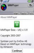 MMPlayer v1.0 mobile app for free download