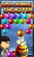 NINJA BUBBLE SHOOTER mobile app for free download