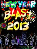 New Year Blast 240x320 mobile app for free download
