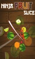 Ninja Fruit Slice  Free (240x400) mobile app for free download