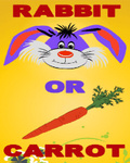 Rabbit Or Carrot (176x220) mobile app for free download