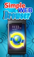Simple WEB Browser mobile app for free download
