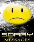 Sorry Messages (176x220) mobile app for free download