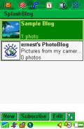 SplashBlog for mobile photo blog mobile app for free download