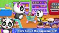 Sweet Baby Panda\'s Supermarket mobile app for free download