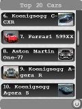 Top Cars mobile app for free download