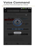 Uc Browser With Voice Coomand mobile app for free download