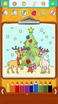 Christmas Coloring Pages: Coloring Book for Kids mobile app for free download