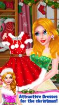 Christmas Girl Party Makeover mobile app for free download