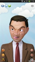 mr bean funny faces mobile app for free download