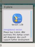 x plore 1.58 with belle icons mobile app for free download