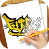 Learn to Draw Graffiti Art 1.01 mobile app for free download