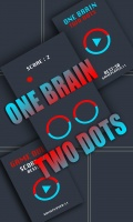 One Brain Two Dots mobile app for free download