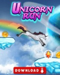 UnicornRun 128x160 mobile app for free download