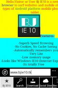 BJ IE10 V1.1 mobile app for free download
