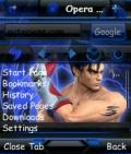 OperaMini.v7.1 Evo X2 Jin Kazama for s60v2 Globe mobile app for free download