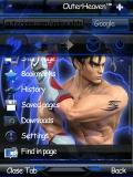 OperaMini.v7.1 Evo X2 Jin Kazama for s60v3 Globe mobile app for free download