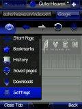 OperaMini Next.v7 Evo HUD Blue for Smart s60v3 mobile app for free download