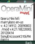 Opera Mini Moded 4.21 mobile app for free download