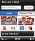Opera Mini Next mobile app for free download
