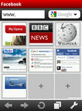 Opera mobile 10 Final mobile app for free download