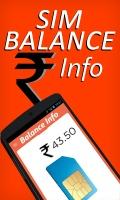 SIM BALANCE Info mobile app for free download